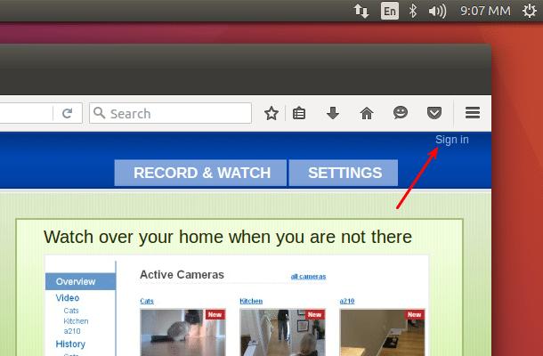 Δωρεάν Κάμερα Παρακολούθησης μέσω Internet με Webcam 16