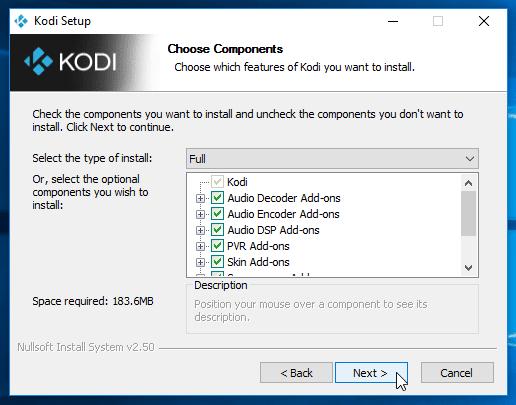 Εγκατάσταση Kodi - Μετατρέψτε το PC σε Media Center για ταινίες και μουσική 02
