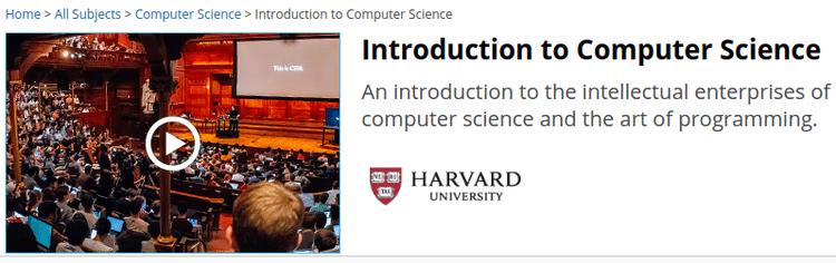 Με ποια γλώσσα προγραμματισμού να ξεκινήσω Harvard