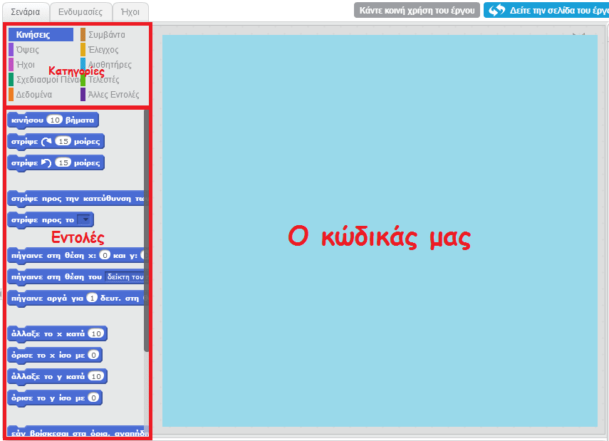 Προγραμματισμός για Αρχάριους, Εύκολα με το Scratch 11