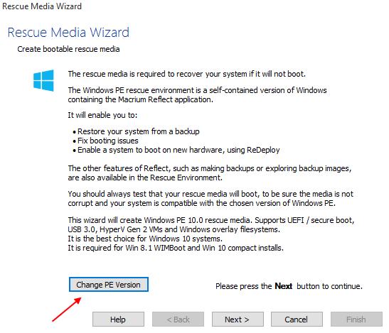 Αντίγραφα Ασφαλείας Windows με το Macrium Reflect free 23