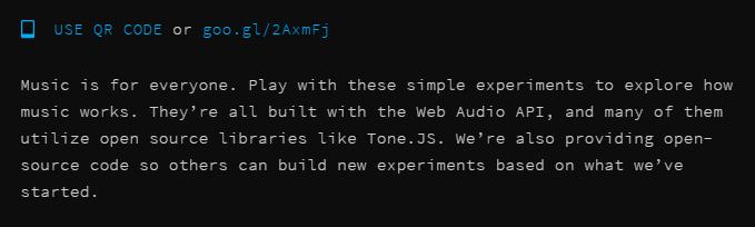 Chrome Experiments - Πειράματα στο διαδίκτυο 06