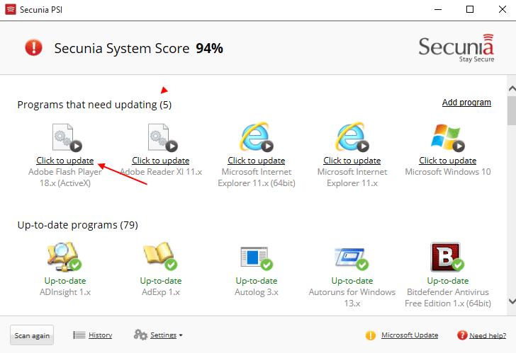 Αυτόματες Ενημερώσεις Προγραμμάτων στα Windows 25