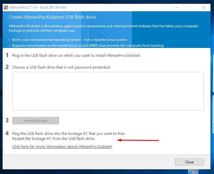 Καθαρισμός Ιών και Malware από τον Υπολογιστή, μέσω USB 70