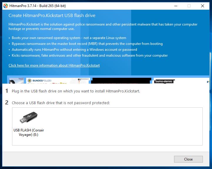Πλήρης Καθαρισμός Ιών και Malware από τον Υπολογιστή, μέσω USB 08
