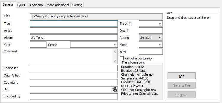 Πληροφορίες Mp3 σε ID3 Tags - Οργανώστε τη Συλλογή σας 17
