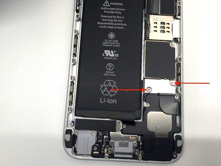 Πώς Αλλάζω Οθόνη iPhone 6 Μόνος Μου, Βήμα Προς Βήμα 06