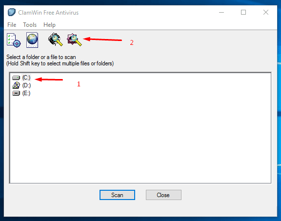 Καθαρισμός Ιών και Malware από τον Υπολογιστή, μέσω USB 44