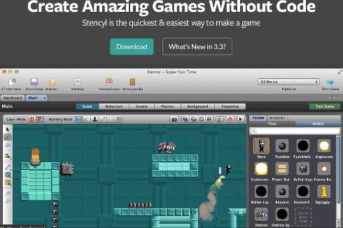 5 Δημιουργία Video Game Δωρεάν χωρίς Γνώσεις Προγραμματισμού