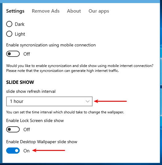 Αυτόματη Αλλαγή Ταπετσαρίας αλλαγή Wallpaper Αλλαγή Εικόνας Επιφάνειας Εργασίας στα Windows 08