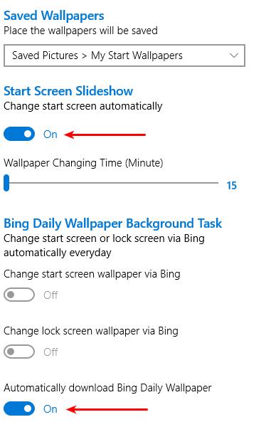 Αυτόματη Αλλαγή Ταπετσαρίας αλλαγή Wallpaper Αλλαγή Εικόνας Επιφάνειας Εργασίας στα Windows 16