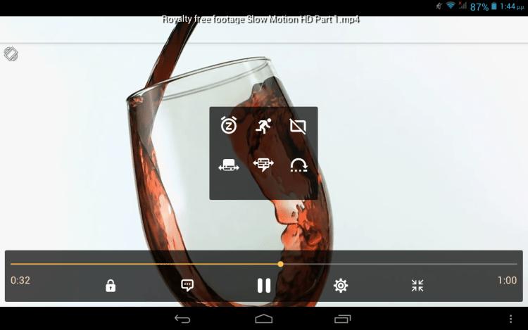Ταινίες στο Android 11β
