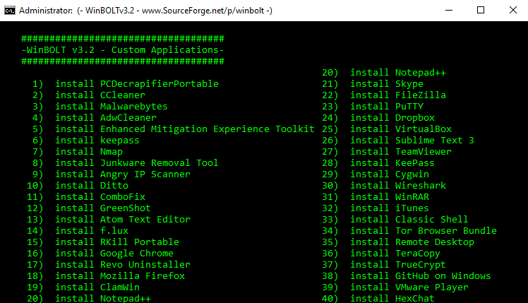 Συντήρηση των Windows με το WinBOLT 13