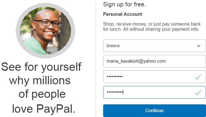 Πως Φτιάχνω Λογαριασμό Paypal για Αγορές και Πληρωμές