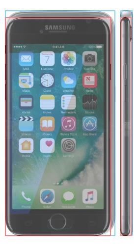 σύγκριση του iPhone 3