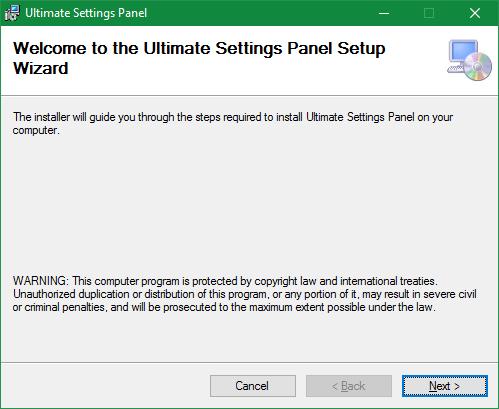 Ρυθμίσεις των Windows 3