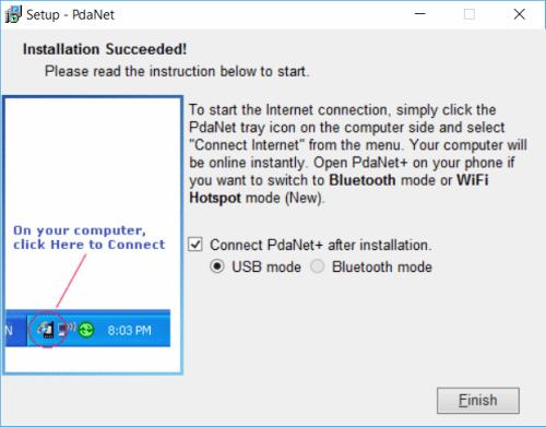 Σύνδεση Κινητού με Υπολογιστή για Ίντερνετ μέσω Tethering 22