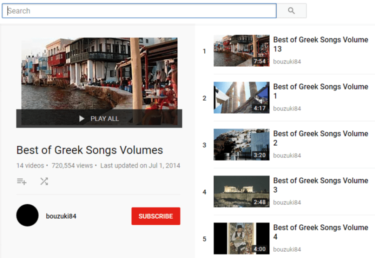 Εφαρμογές Για Το Πλήρες Κατέβασμα Playlist Από Το YouTube