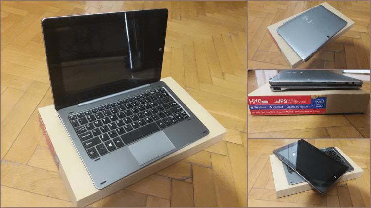 Parousiasi Chuwi Hi10 Pro Metalliko Dual Boot Ultrabook