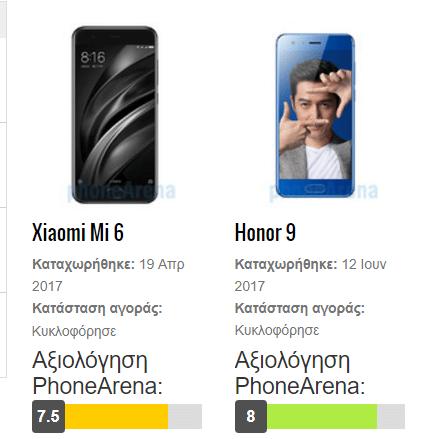 Xiaomi Mi 6 vs Huawei Honor 9 45