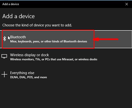 Bluetooth en este equipo windows 10