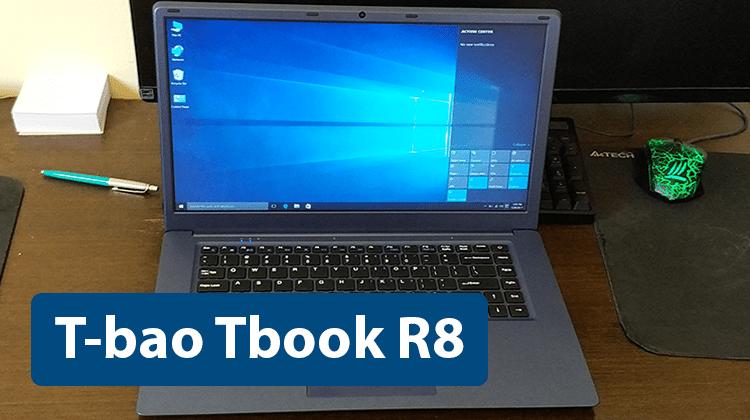 T-bao Tbook R8 - Πιθανότατα το Φθηνότερο Laptop 15'' της Αγοράς