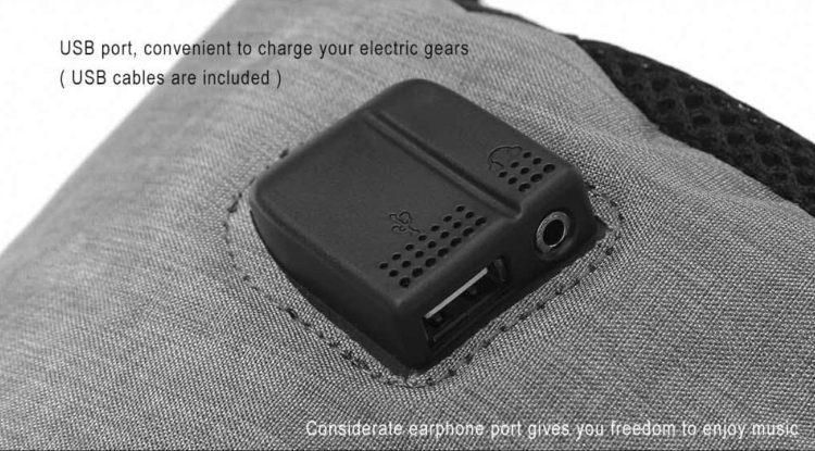 7c628134406 Η ακόλουθη είναι η πιο οικονομική από τις υπόλοιπες τσάντες για laptop με  USB port. Έχει κόστος 13,77€, βάρος λίγο πάνω από μισό κιλό, και μπορεί να  ...