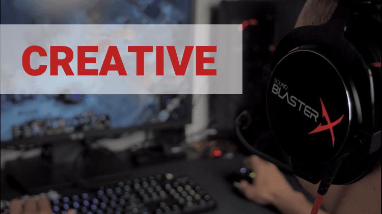 Sound BlasterX Περιφερειακά της Creative
