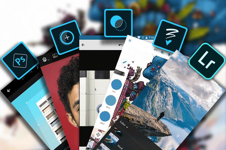 Τι Είναι Οι Εφαρμογές Photoshop Express, Fix, Mix, και Sketch