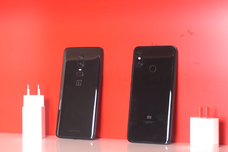 OnePlus 6 vs Xiaomi Mi 8 32