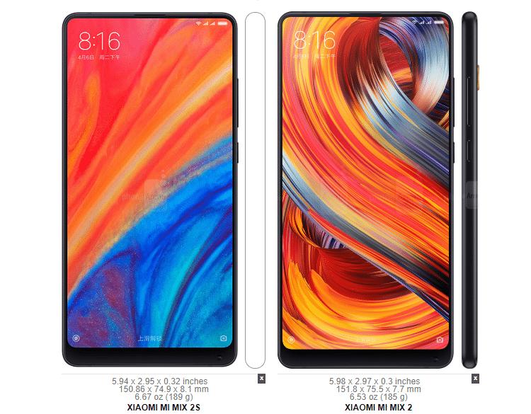 Galaxy S9+ vs. LG G7 ThinQ vs. Mi Mix 2s 31β