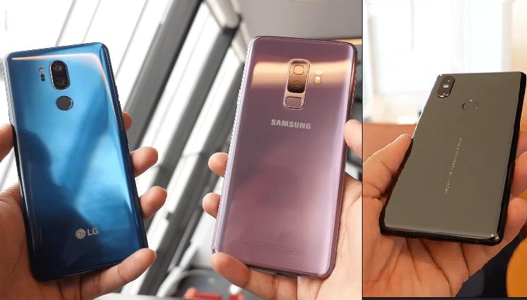 Galaxy S9+ vs. LG G7 ThinQ vs. Mi Mix 2s 7