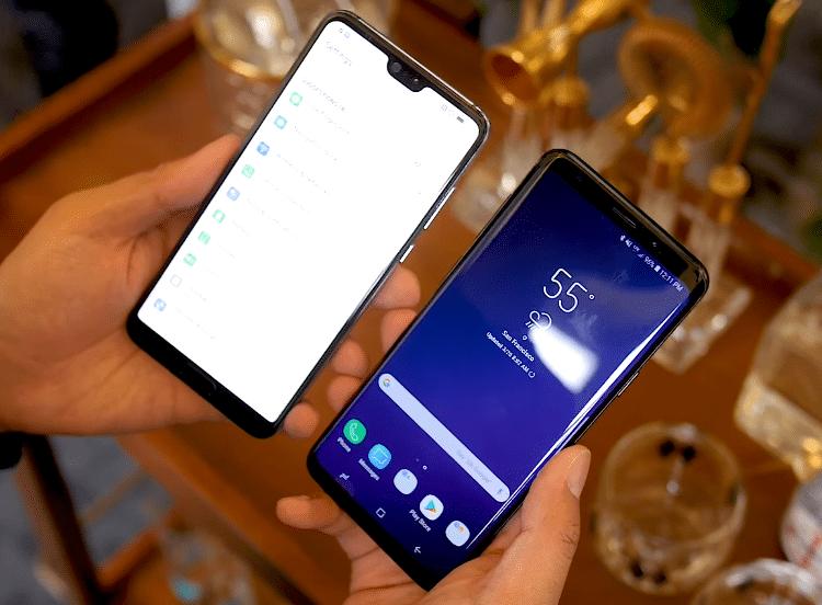 Huawei P20 vs. Galaxy S9 2