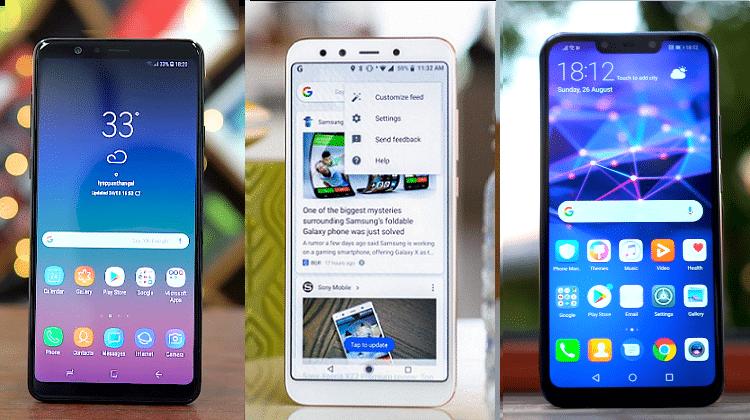 Galaxy A8 Star vs Mi A2 vs Mate 20 Lite - Ποιο Είναι Καλύτερο?
