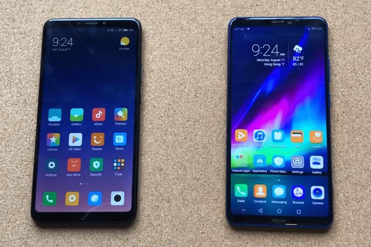 Xiaomi Mi Max 3 VS. Honor Note 10 13αα
