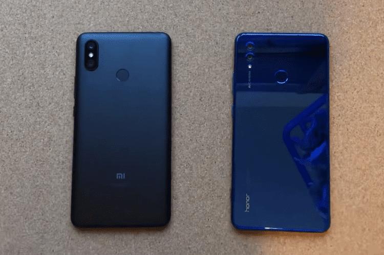 Xiaomi Mi Max 3 VS. Honor Note 10 13α