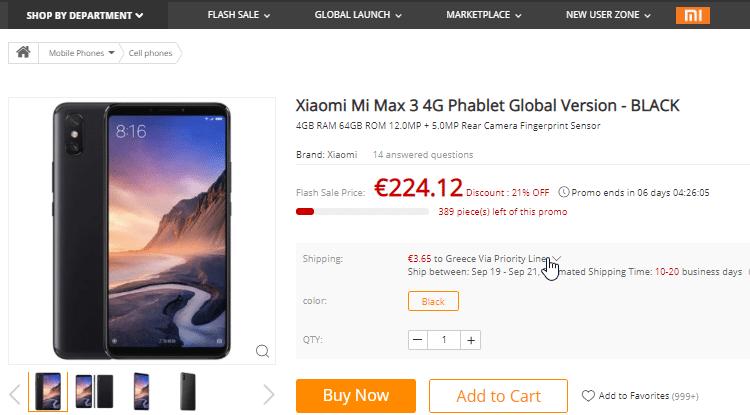 Xiaomi Mi Max 3 VS. Honor Note 10 20