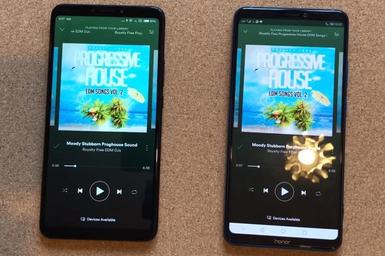 Xiaomi Mi Max 3 VS. Honor Note 10 5