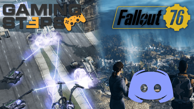 GamingSteps#20181019 - Remasters του Command & Conquer, Fallout 76, Κατάστημα Discord