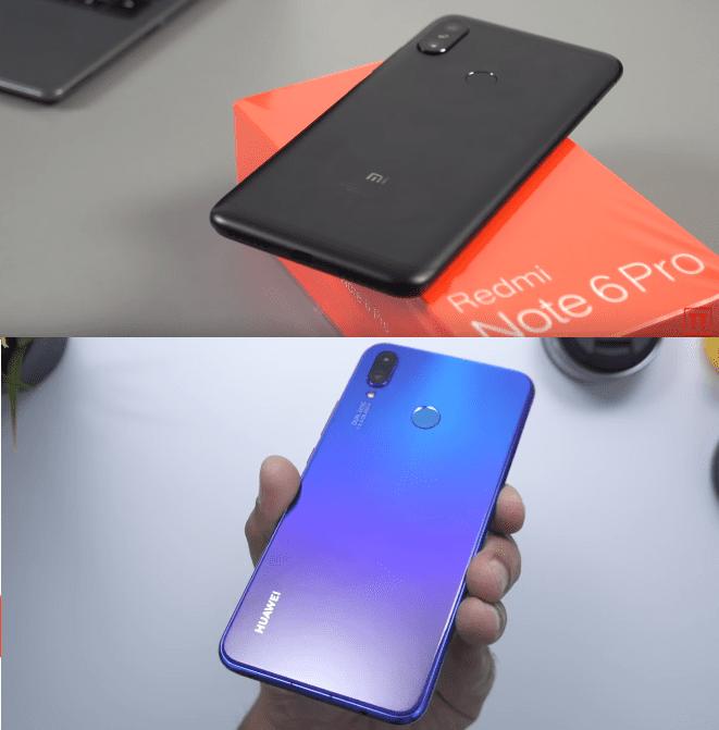 Redmi Note 6 Pro vs Huawei Nova 3i 20α