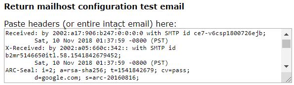 αναφορά spam