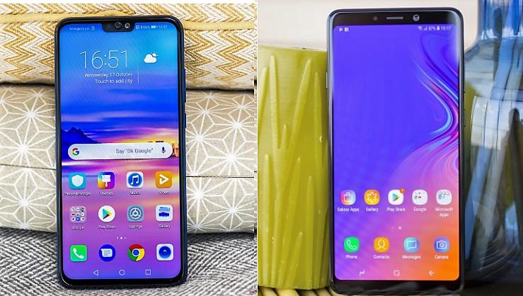 Honor-8X-vs-Samsung-Galaxy-A9- 40α