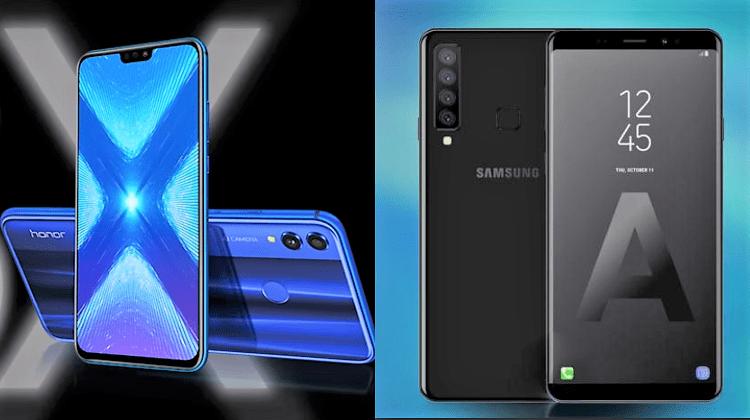 Σύγκριση Mid-range: Huawei Honor 8X vs Samsung Galaxy A9 (2018)
