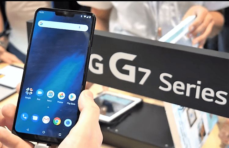 LG G7 One vs Nokia 8.1 22