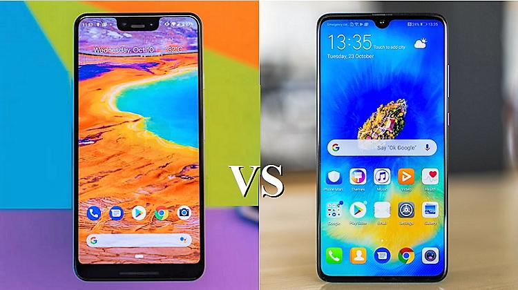 Σύγκριση High-End: Google Pixel 3 XL vs Huawei Mate 20