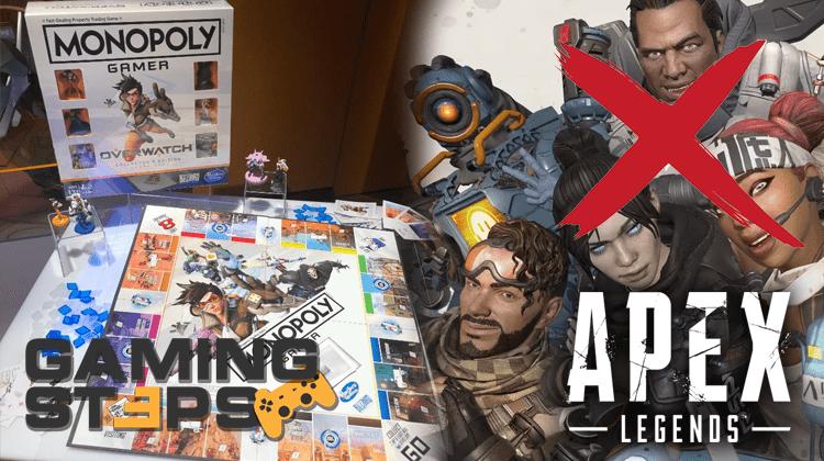 GamingSteps#20190222 - Monopoly Overwatch, 16.000 Ban Στο Apex Legends, Razer Game Store