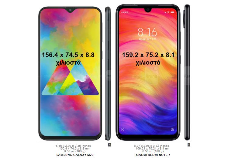 Samsung-Galaxy-M20-vs-Xiaomi-Redmi-Note-7-2αα