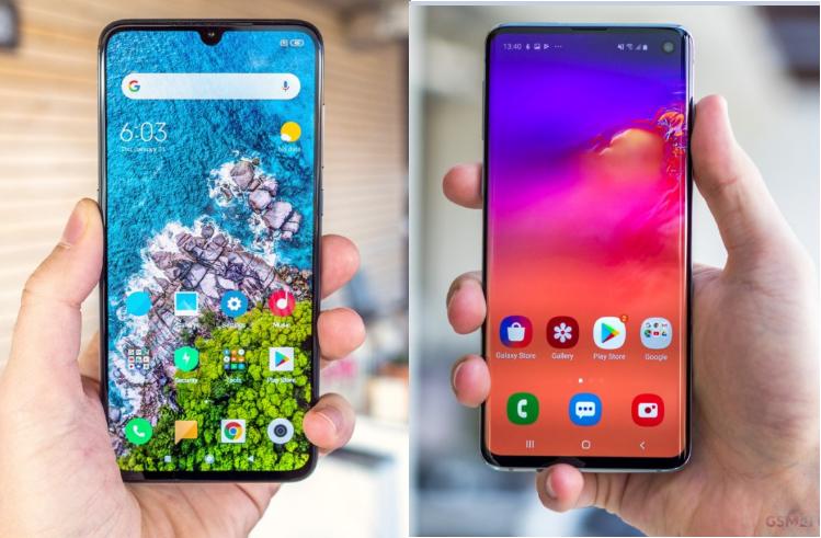 Xiaomi Mi 9 vs Samsung Galaxy S10 15