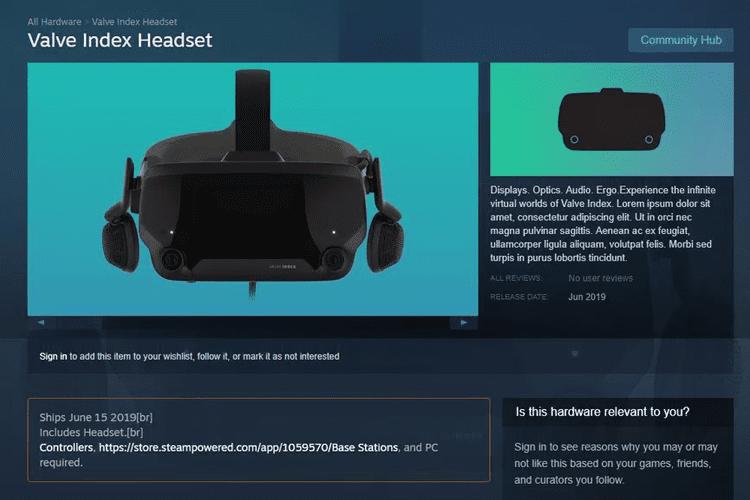 GamingSteps#20190406 - Valve Index VR Headset, Borderlands 3, BAFTA Games Awards 2019