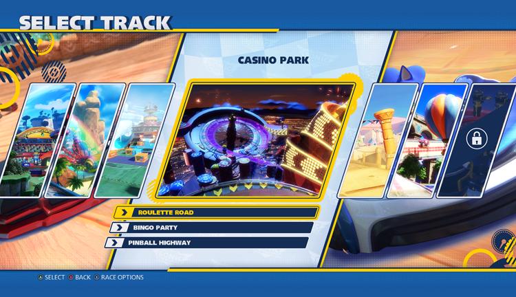 Οι πίστες του Team Sonic Racing
